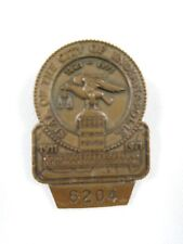 1971 Indianapolis 500 Bronze Pit Badge #6204 Al Unser Johnny Lightning Repaired