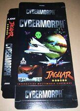 Atari Jaguar 64-Bit Games Console Original Cybermorph Game Box NEW P/N: J9000