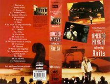 VHS AMEDEO MINGHI nel recital anita