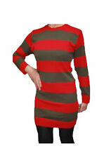 Striped Crew Neck Long Jumpers & Cardigans for Women