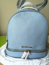 Michael Kors Rhea Backpack Small New With Original Tags & Dust Bag