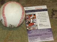 Chipper Jones Autographed Baseball JSA Certified