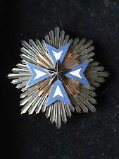 ORDRE DE L'ETOILE NOIRE DU BENIN  : PLAQUE de GRAND CROIX   medaille