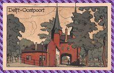 Carte Postale DELFT - Oostpoort