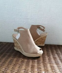 Women's New Look Polow Brown WEDGE Summer Sandals - Select Your Size - RPR £28