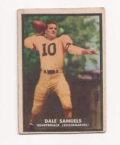 1951 Topps Magic # 55 Dale Samuels Purdue University