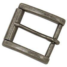 """Monti Roller Buckle 1-1/2"""" Antique Nickel 1646-21 Stecksstore Leather Craft"""
