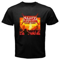 NUCLEAR ASSAULT GAME OVER '86 Logo Men's Black T-Shirt Size S to 3XL