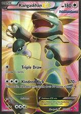 Pokemon XY Flashfire Kangaskhan EX 103/106 Super Rare Holo Card
