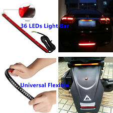 "Universal 12"" Bendable Car Auto LED Lights Strips Tail Brake Flowing Turn Signal"