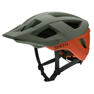 Smith Session MIPS Bike Helmet Adult Medium (55-59 cm) Matte Sage / Red Rock New