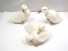 Nao by Lladro Figurines #0368, #0369, #0370, Little Ducks, with boxes