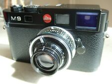 """rare Taylor Hobson COOKE PANFO 50mm f/2.8 LENS in Leica RF Mount """"WAR FINISH"""""""