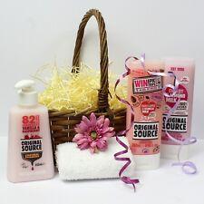 Vegan Toiletries Gift Basket for Her - Original Source Body Care. Ladies Pamper.