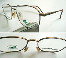 Lacoste Made in Japan Titanium occhiali vintage frame eyeglasses 1980's