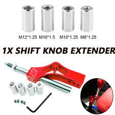 Car Ven Shift Knob Extender Extension M8/M10/M12X1.25 M10X1.5 Lever Gear Shifter