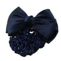 Filet aux cheveux avec l'epingle de noeud a deux boucles Bleu pour les femm M4P4