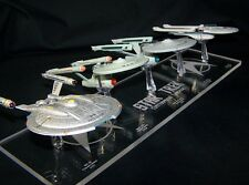 acrylic replacement display base for Eaglemoss Enterprise Lineage NX-01 thru B