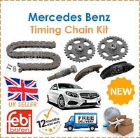 For Mercedes Sprinter Vito SLK A B C E M S Class Febi Bilstein Timing Chain Kit