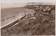 B80027 salterton budleigh beach and esplanade united kingdom  front/back image