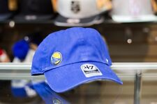 47 Brand Golden State Warriors Navy Blue Dad Hat