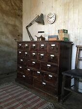 Wooden Multi Drawer Merchants/apothecary Chest Of Drawers Free Local Delivery