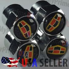 GEELY EMGRAND Valve Caps Logo Stem Chromed Wheels Roundel Cars Tires Emblem USA