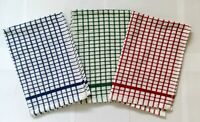 Quality Tea Towels Cotton Rich Terry Kitchen Drying Cleaning Dish Cloths