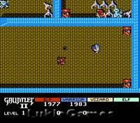 Gauntlet II 2 - NES Nintendo Classic Fun Game