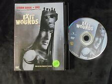 """USED DVD Movies """"Exit wounds"""" (G)"""