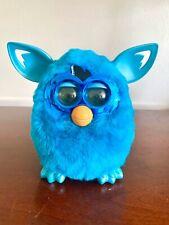 2012 Hasbro Talking Furby Boom Interactive Electronic Pet Blue Working!!