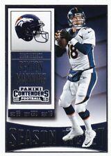 2015 Panini Contenders Football Trading Card, #1 Peyton Manning