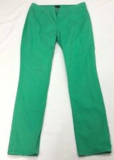NYDJ Not Your Daughters Jeans Women Green Skinny Jeans Pant Sz 14 (35x32)