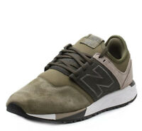 New Balance 247 V1 Men's Sneaker: Suede & Leather Olive Green Size 13