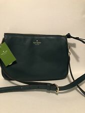 NWT Kate Spade Larchmont Avenue Green Emerald Madelyne Crossbody Bag Purse New