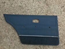VW GOLF JETTA MK1 5 DOOR REAR LEFT DOOR CARD TRIM BLUE