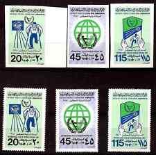 LIBYE neufs  : >Série 3 timbres dentelé et non-dentelé: année  handicap  283T4