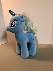 Build A Bear My Little Pony Trixie Plush Blue Unicorn My Little Pony MLP BABW
