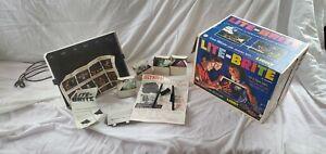 Vintage•Original•1967•1st Edition•Hasbro•Lite-Brite• w/New Sheets All Parts