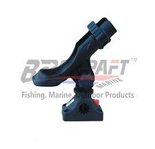 Brocraft Kayak Rod Holder / Boat fishing  Power Lock Fully Adjustable Rod Holder