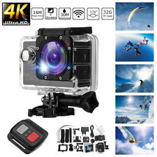 4K 2'' Ultra HD 1080P Sport Action Camera WiFi 16MP Video Recorder Waterproof DV