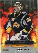 07-08 FLEER HOT PROSPECTS COMMODITIES #150 RYAN MILLER 580/999 SABRES *46757