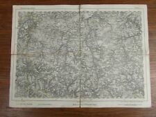 CARTE ANCIENNE OLD MAP ALTE REYMANN 's SPECIAL KARTE 1870 BOUILLON GIVET (177)