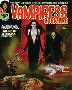 VAMPIRESS CARMILLA MAGAZINE #2 (NM) Warrant Magazine HORROR Creeps Vampirella