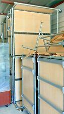 "OPTO FIXTURES Double-Length (48"" Racks/Shelves) Rolling H Rack CLASSIC"