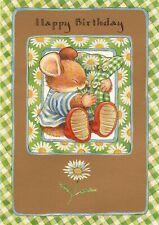 Nice Hallmark Country Companions Mouse ~ Birthday card