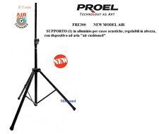 "PROEL FRE300 SUPPORTO  ASTA  CASSA STAND SINGOLO STATIVO CASSE ""AIR CUSHIONED"""
