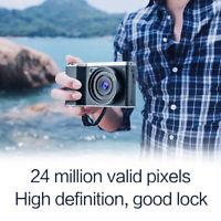 4.0-Inch 12X Optical Zoom IPS 1080P HD Digital 24MP SLR Camera Video Recorder