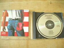 BRUCE SPRINGSTEEN BORN IN THE USA JAPAN HOLLAND ISSUE CD NO BARCODE CSR EMBOSSED