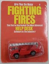Yatming Fire Ladder Truck RARE Computer Associates CA-Unicenter Help Desk Promo